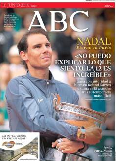 Rafael Nadal's Roland Garros Victory On Newspaper Front Pages (7)
