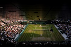 . The Championships 2019. Held at The All England Lawn Tennis Club, Wimbledon. {year4}{month0}{day0}. Credit: AELTC/Tim Clayton