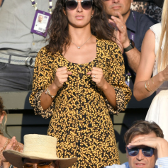 LONDON, ENGLAND - JULY 12: Xisca Perello attends day eleven of the Wimbledon Tennis Championships at All England Lawn Tennis and Croquet Club on July 12, 2019 in London, England. (Photo by Karwai Tang/Getty Images)
