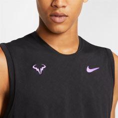Rafael Nadal Nike sleeveless shirt top US Open 2019 photo