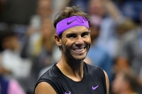 Rafael Nadal of Spain celebrates his victory over Matteo Berrettini of Italy during their Singles Men's Semi-finals match at the 2019 US Open at the USTA Billie Jean King National Tennis Center in New York on September 6, 2019., Image: 469526890, License: Rights-managed, Restrictions: , Model Release: no, Credit line: Profimedia, AFP