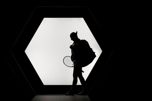 Rafael Nadal of Spain enters the court prior his round of sixteen match against Stan Wawrinka of Switzerland at the Rolex Paris Masters tennis tournament in Paris, France, 31 October 2019. EPA-EFE/, Image: 480223016, License: Rights-managed, Restrictions: , Model Release: no, Credit line: YOAN VALAT / EPA / Profimedia
