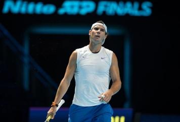 Rafa NADAL of Spain during practice at the Nitto ATP, Tennis Herren Finals Tennis London MEDIA DAY at the O2, London, England on 8 November 2019. PUBLICATIONxNOTxINxUK Copyright: xAndyxRowlandx PMI-3189-0033